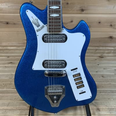Welson 1966 Petra Electric Guitar USED - Blue Sparkle for sale