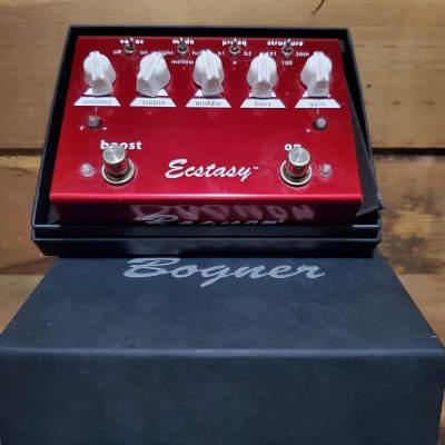 Bogner ecstasy red overdrive