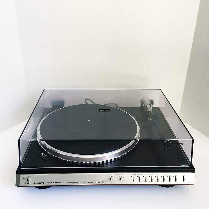 Vintage Sanyo Q50 Plus Direct Drive Turntable Record Player with Audio  Technica AT30E Cartridge Need