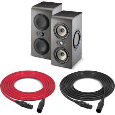 "Focal Shape Twin | Twin Dual 5"" Powered Studio Monitor Stereo Pair | Pro Audio LA"