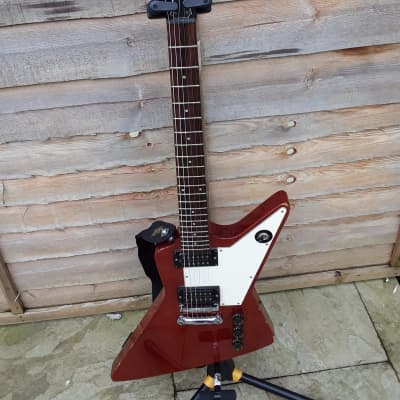 Maya MIJ Explorer Guitar Battle Axe Work Horse Power House for sale