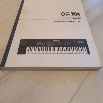 Roland XP-60/80 Manual. Good Condition. German Language. Global Ship.