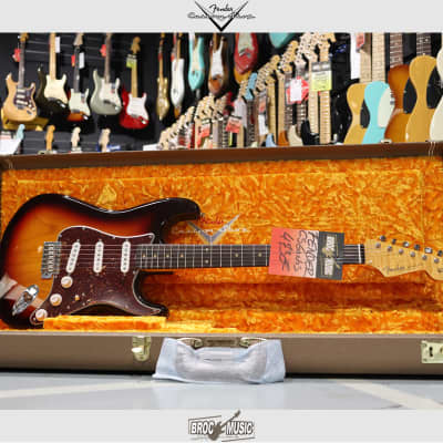 Fender  Custom Shop Stratocaster 60 NOS Chocolate 3T Sunburst 2019 for sale