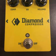 Diamond Pedal CPR-1 compressor 2012  Yellow