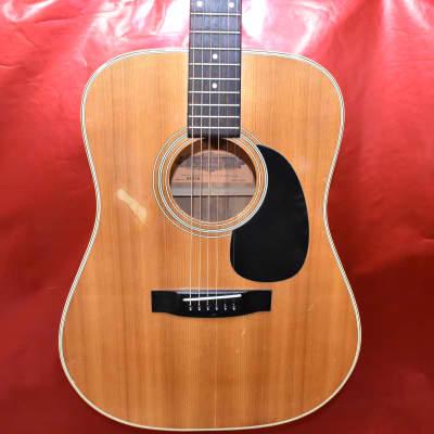 NMI Nashville Musical Instrument Co. Guitar W601M Japan Made Lawsuit Era 70's-80's Natural for sale
