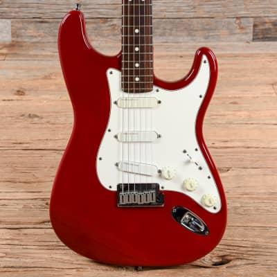Fender Stratocaster Plus Lipstick Red 1993 (s249)