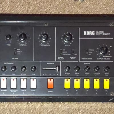 Korg X-911 1970s Black (vintage/upgrades#!)