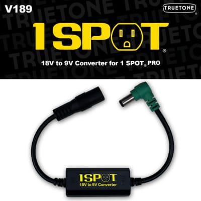 Truetone V189 18volt-to-9volt Converter Cable