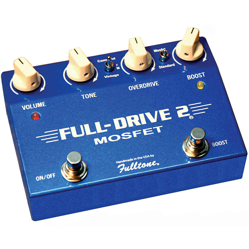 fulltone fulldrive 2 mosfet overdrive pedal fd2 mosfet reverb. Black Bedroom Furniture Sets. Home Design Ideas