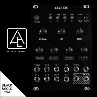 Mutable Instruments Clouds Clone Eurorack Module - Custom Black/Gold Panel