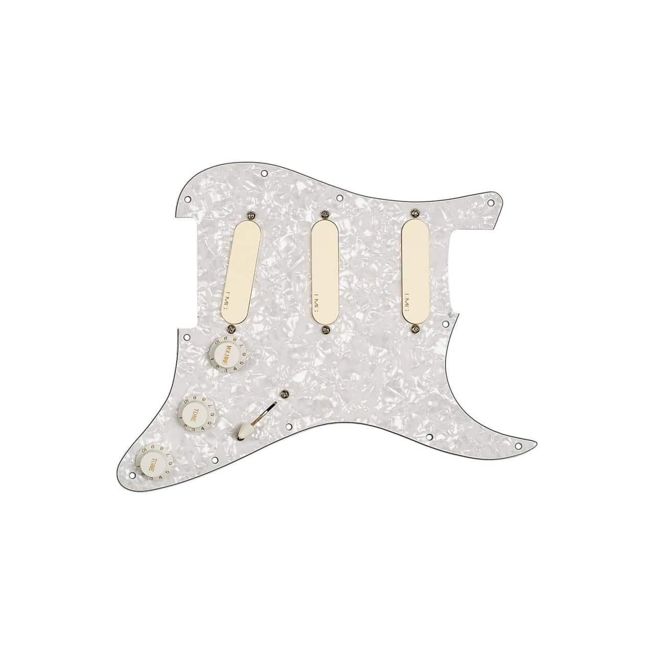Wiring Diagram Emg Kh20 Library Strat Gilmour Dg20 David Pro Series Loaded Pickguard Ivory Reverb