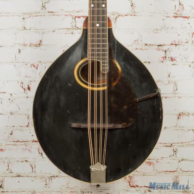 Vintage Gibson 1917 K2 Mandocello Black (USED) for sale