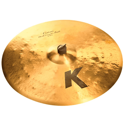 "Zildjian 22"" K Custom Dark Complex Ride Cymbal"