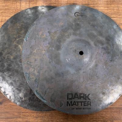 """Dream Cymbals DMHH14 Dark Matter Series Hand Forged & Hammered 14"""" Hi Hat Set Demo"""