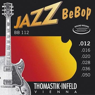Thomastik-Infeld BB112 Jazz BeBop Nickel Round-Wound Guitar Strings - Light (.12 - .50)