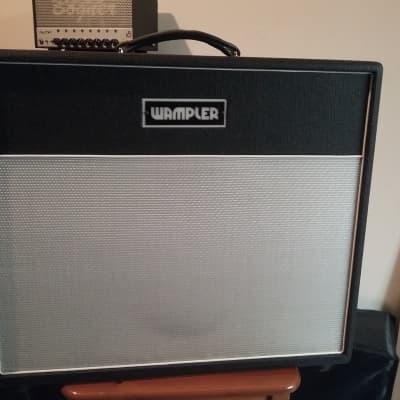 Wampler Bravado 40-Watt 1x12 Hand-Wired Guitar Combo Amp 2016s Black / White for sale