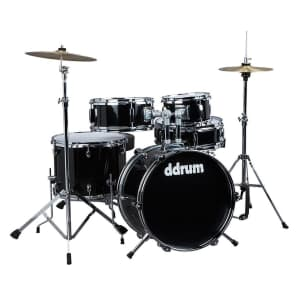 ddrum D1 JR Complete 5pc Drum Kit w/ Cymbals, Hardware