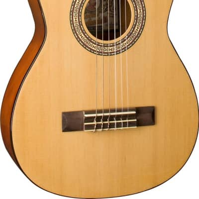 Oscar Schmidt OCHS 1/2 Size Classical Guitar (High Gloss) for sale