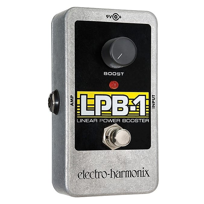 Electro-Harmonix EHX LPB-1 Linear Power Booster Preamp Effects Pedal