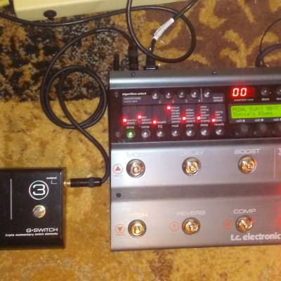 TC Electronic Nova System Analog Multi-Effects Pedal with G-Switch