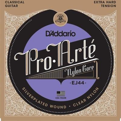 D'Addario EJ44 Pro-Arté Nylon, Extra Hard Tension