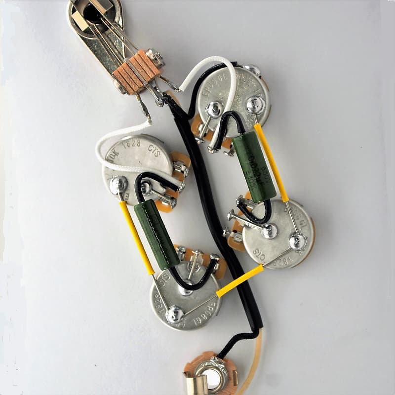 Sg Wiring Harness Custom Prewired By Jel Left Handed With