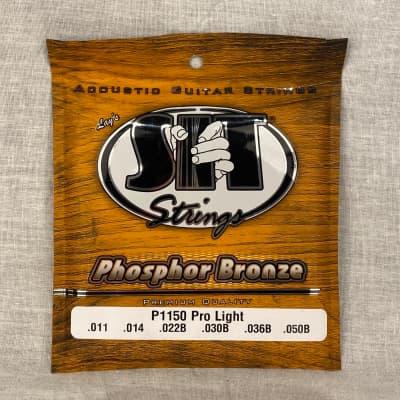SIT P1150 Phosphor Bronze Acoustic Guitar Strings - Pro Light (11-50)