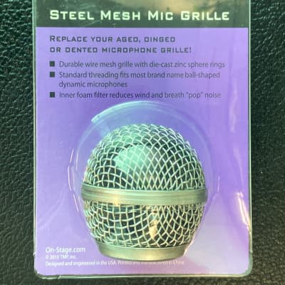On-Stage SP-58 Microphone Grill (fits Shure SM58) Steel Mesh