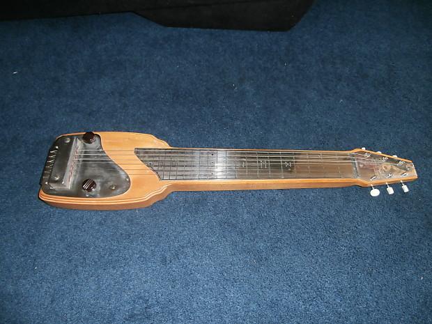 Vintage 1946 Fender Organ Button Lap Steel Guitar Incredibly Reverb