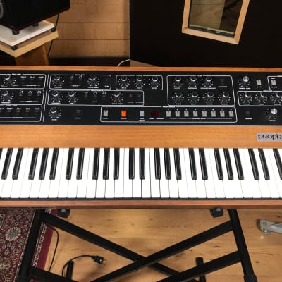 Sequential Circuits Prophet 5 Rev 3.3 with Kenton MIDI