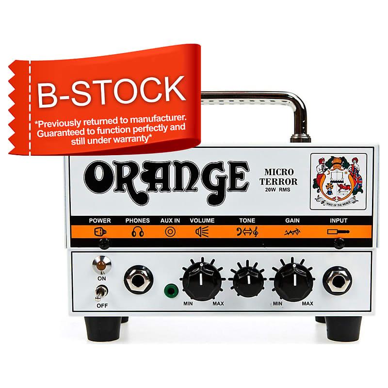 B-Stock Micro Terror MT20 20W Hybrid Guitar Amplifier Head