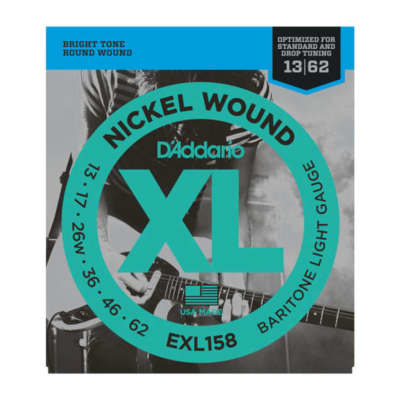 D'Addario EXL158 Light Baritone Guitar Strings