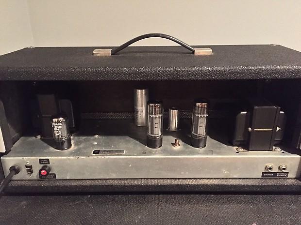 1969 Sunn Sonic 1 EL-34 amp head   Travis's Gear Depot