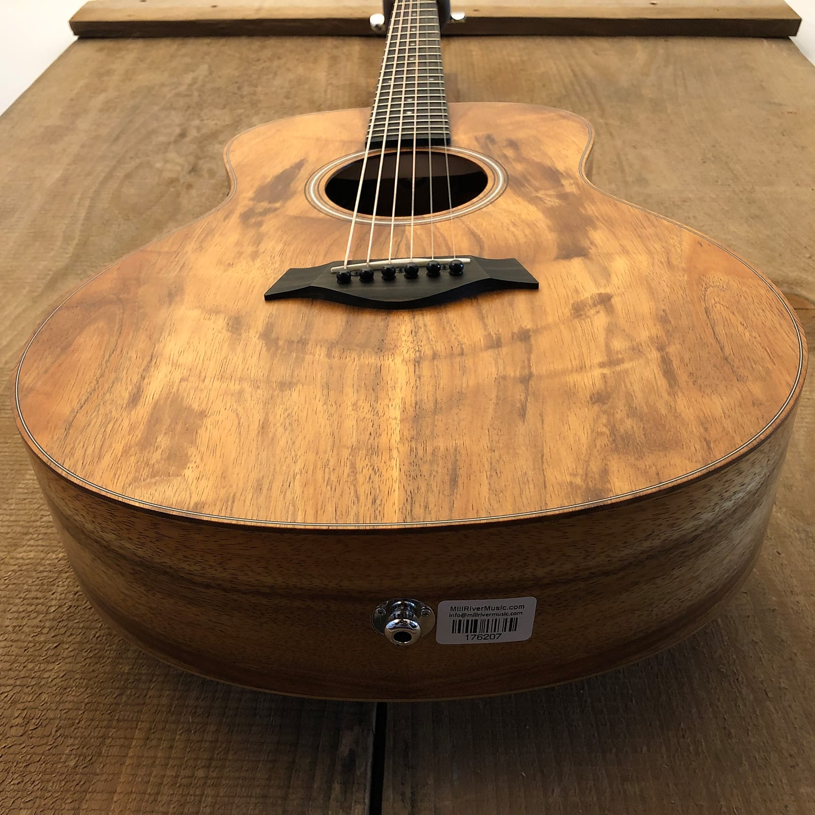 Taylor GS Mini-e Koa Acoustic-Electric Guitar Natural 2021 w/ Gig Bag