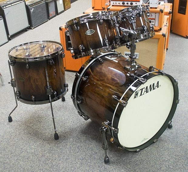 Tama pl42 bnsqmob 4 pc starclassic performer birch for 16x14 floor tom