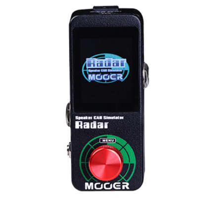 Mooer Radar Speaker Cab Simulator IR loader with Color LED Screen NEW! Release Open Box