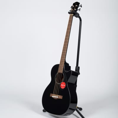 Fender CB-60SCE Bass Guitar - Laurel, Black for sale