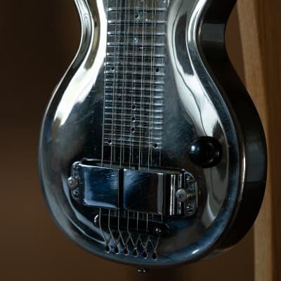 Rickenbacker Electro Silver Hawaiian Lap Steel Electric Guitar Model 100 (1937) for sale