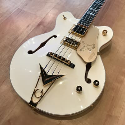 Gretsch G6136B-TP-AWT Tom Petersson Signature Falcon 2019 Aged White for sale