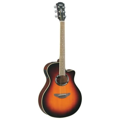 Yamaha APX500II Thinline Acoustic/Electric Guitar Old Violin Sunburst
