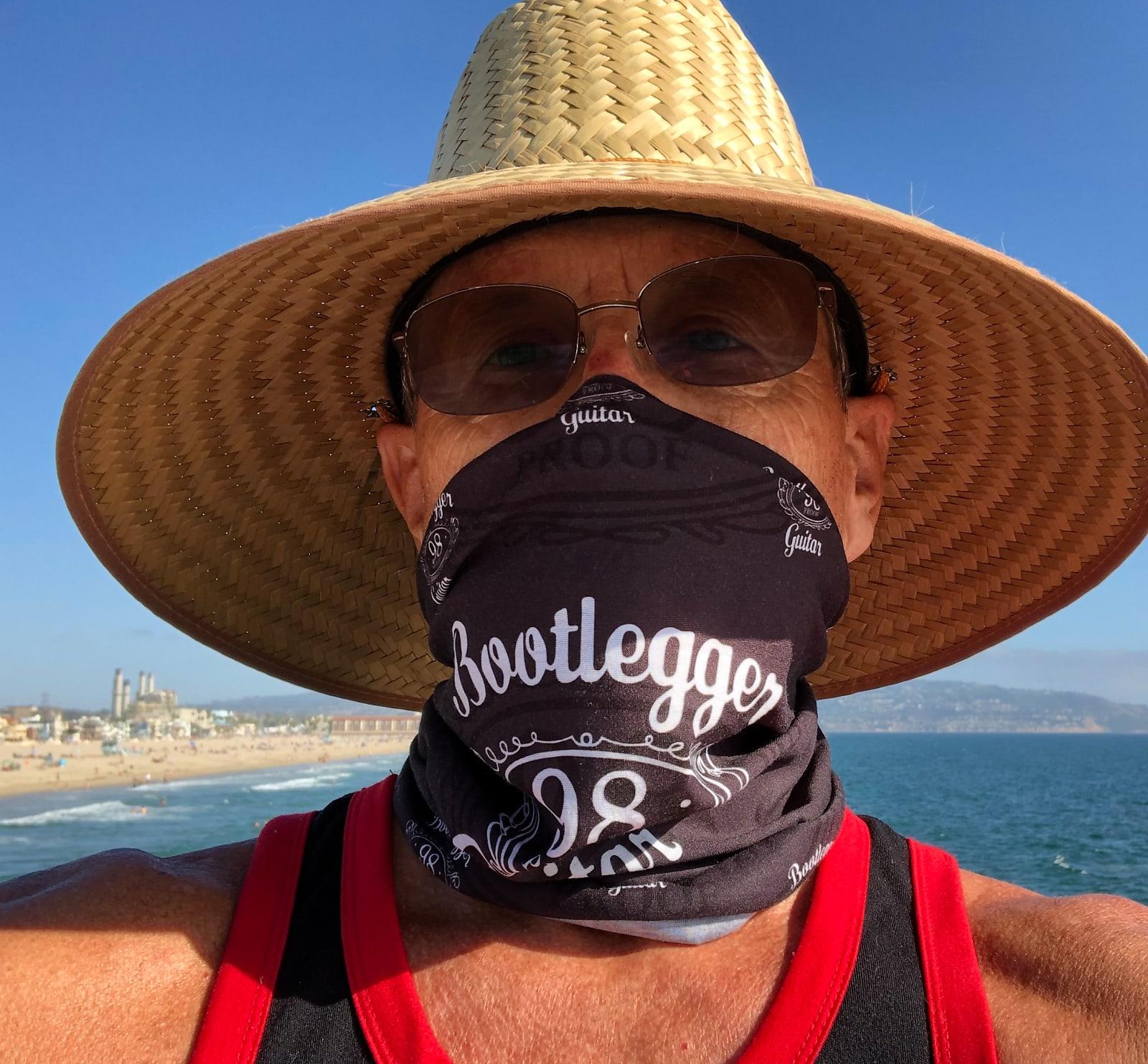 Bootlegger Guitar Bootlegger Guitar 98 Proof Hoo Rag 2020 Mask Bandanna Face Cover