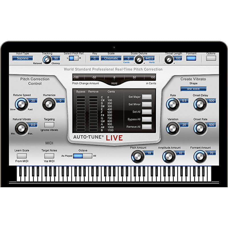 Antares Auto Tune Live Vst Au Rtas Software Download
