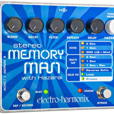 Electro Harmonix Stereo Memory Man w/ Hazarai Digital Delay/Looper for sale