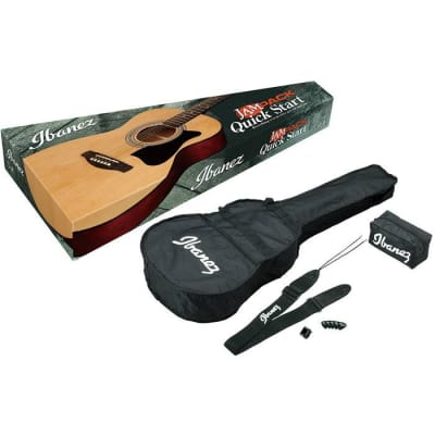 Ibanez VC50NJP Acoustic Concert Jam Pack Natural for sale