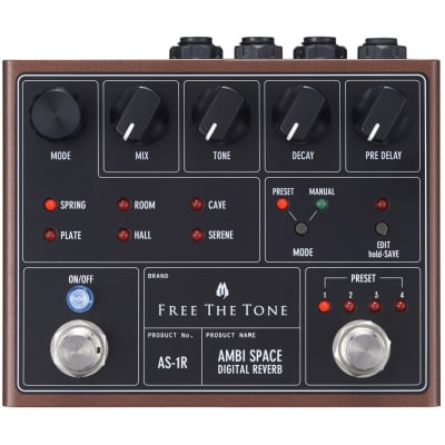 Free The Tone Ambi Space AS-1R Reverb