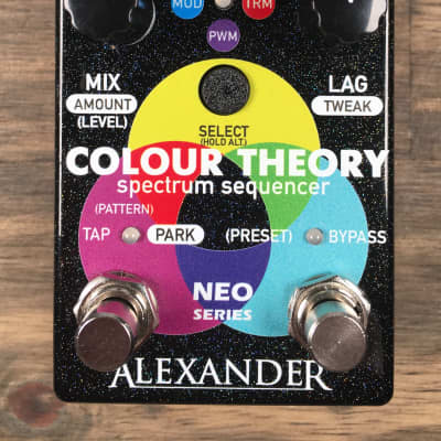 Alexander Pedals Colour Theory Spectrum Sequencer FREE Shipping Continental US!