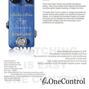 One Control Baltic Blue Fuzz for sale