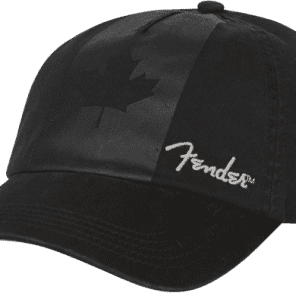 94cc93e09c1 Genuine Fender Canada Maple Leaf Flag Blackout Hat One Size Fits All   9106654000