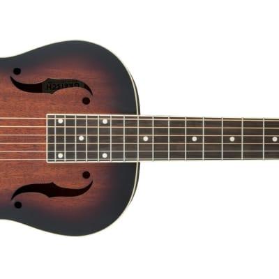 GRETSCH - G9230 Bobtail Square-Neck A.E.  Mahogany Body Spider Cone Resonator Guitar  Fishman Nashville Resonator Pickup  2-Color Sunburst for sale