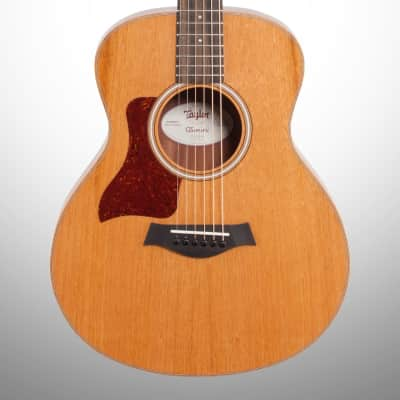 Taylor GS Grand Symphony Mini Mahogany Acoustic Guitar, Left-Handed (with Gig Bag), Natural